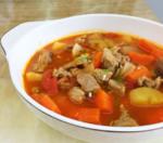 土豆牛肉胡萝卜
